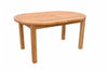 Anderson Teak | Bahama 78 inch Oval Extension Teak Table |TBX-079V -  Furniture - Teakwood Central