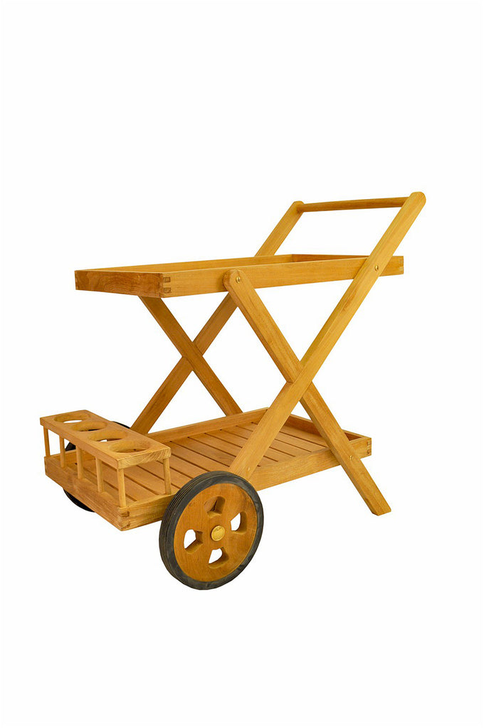 Anderson Teak | Cobana Serving Trolley (TR-001) -  Furniture - Teakwood Central