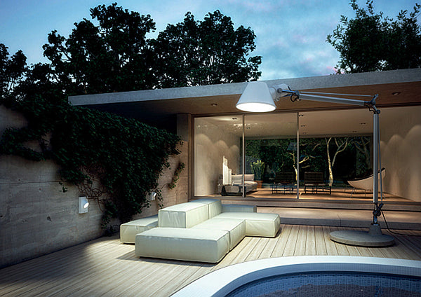 Artemide | Tolomeo XXL Floor Outdoor Lighting |AM-TolomeoXXL -  Outdoor Lighting - Teakwood Central