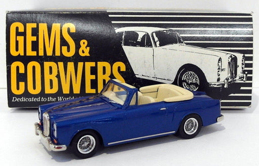 Gems & Cobwebs Models 1/43 Scale GC2 - 1966 Alvis TF21 - Dark Blue