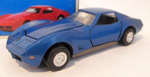 Diapet 1/40 scale Vintage diecast - G-76 Corvette Stingray metallic blue