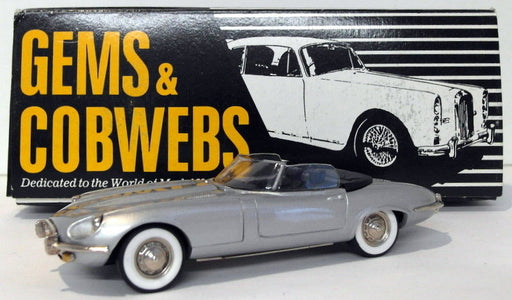Gems & Cobwebs 1/43 Scale GC22 - 1972 Jaguar V12 Convertible - Silver