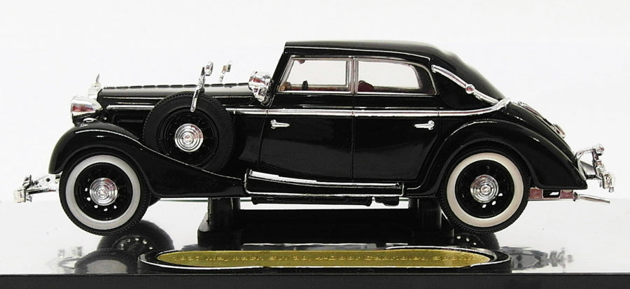Signature Models 1/43 Scale PM43703 - 1937 Maybach SW38 4Dr -Black
