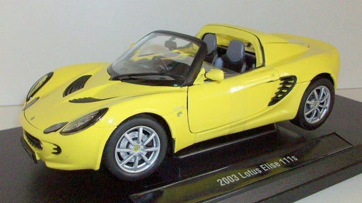 Welly 1/18 Scale - 12535RW 2003 Lotus Elise 111s - Yellow