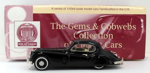 Gems & Cobwebs 1/43 Scale GC48 - Jaguar XK140 Fixed Head Coupe - Blue