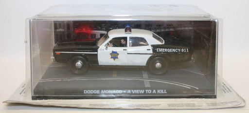 Fabbri 1/43 Scale Diecast - Dodge Monaco Police - A View To A Kill