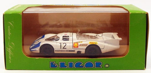Eligor 1/43 Scale Model Car 1198 - Porsche 917 - #12 24Hr Du Mans 1969