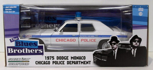 Greenlight 1/24 Scale 84012 - 1975 Dodge Monaco Chicago PD - The Blues Brothers