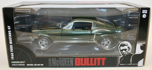 Greenlight 1/24 Scale Car 84041 - Steve McQueen 1968 Ford Mustang GT Bullitt