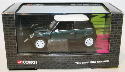 Corgi 1/36 Scale Diecast CC86506 - The New Mini Cooper - British Racing Green