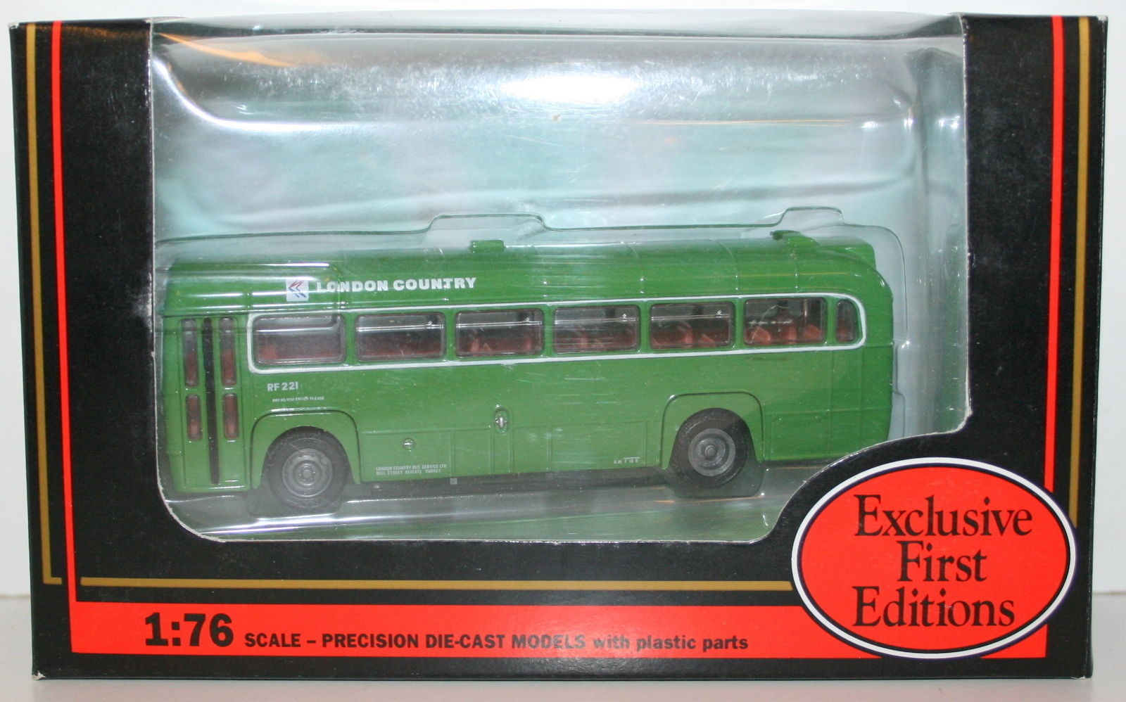 EFE 1/76 23303 AEC RF BUS LONDON COUNTRY NBC #485 EAST GRINSTEAD
