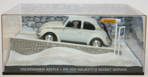Fabbri 1/43 Scale Model - Volkswagen Beetle On Her Majesty's Secret Service