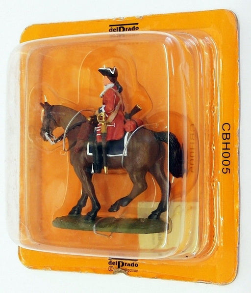 Del Prado Model Soldier Apx 12cm CBH005 Marlborough Cavalryman At Blenheim 1704