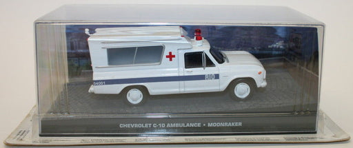 Fabbri 1/43 Scale Diecast Model - Chevrolet C-10 Ambulance - Moonraker