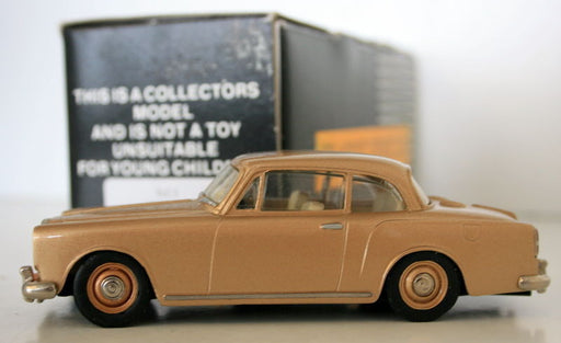 GEMS & COBWEBS MILESTONE MIN 1/43 GC3 - ALVIS TF21 SALOON 1966 - GOLD