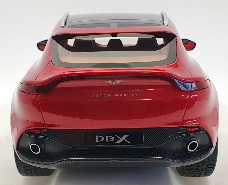 ASTON MARTIN DBX HYPER RED WITH BLACK TOP 1//18 MODEL CAR BY TOP SPEED TS0287