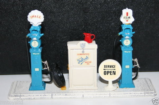 AVONCAST 1/43 SCALE WHITE METAL AC11 - #3 THE WAYNE ELECTRIC FUEL PUMP SET