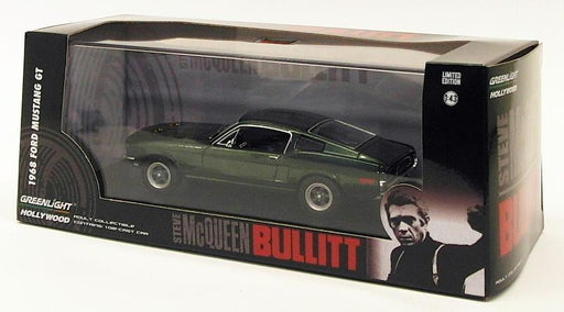 Greenlight 1/43 Scale 86431 - 1968 Ford Mustang GT - Steve McQueen Bullit