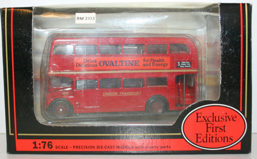 EFE 1/76 15602 ROUTE MASTER BUS OVERTINE LONDON TRANSPORT 3 CRYSTAL PALACE