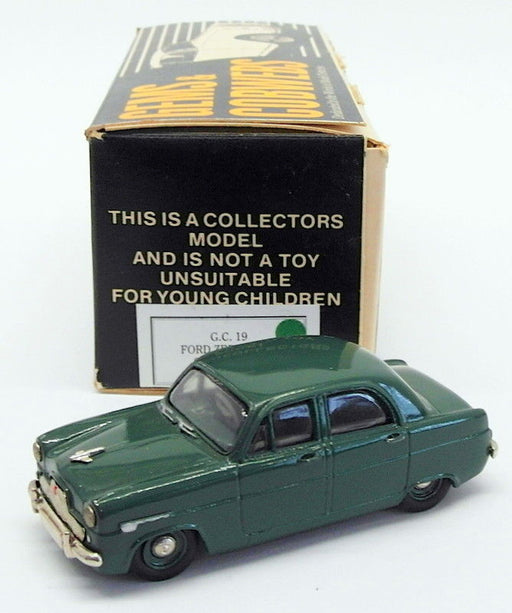 Gems & Cobwebs 1/43 Scale Model Car GC19 - 1951 Ford Zephyr Saloon - Green