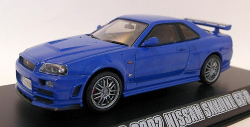 Greenlight 1/43 Scale Diecast 86219 Brians 2002 Nissan Skyline GT-R Fast Furious