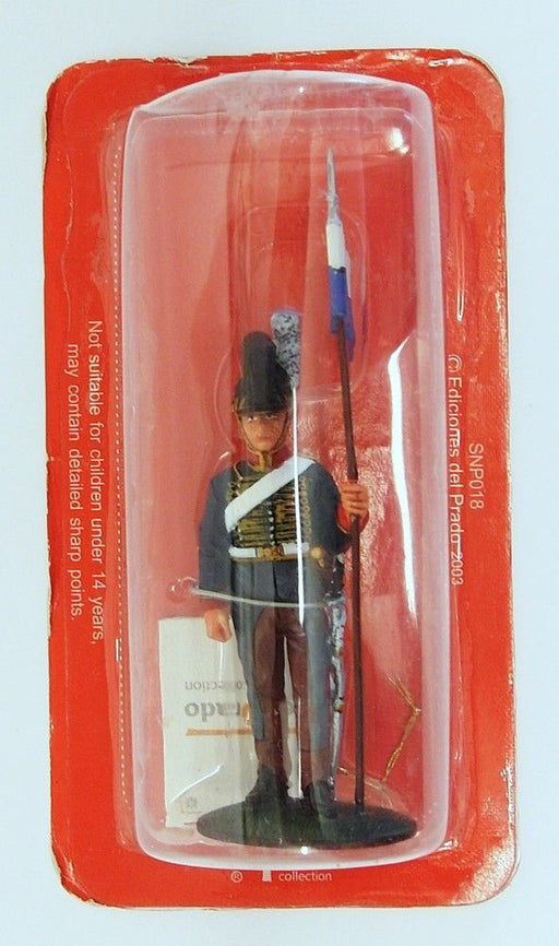 Del Prado Apx 8cm Tall Model Soldier SNP018 - Trooper Royal Horse Artillary 1814