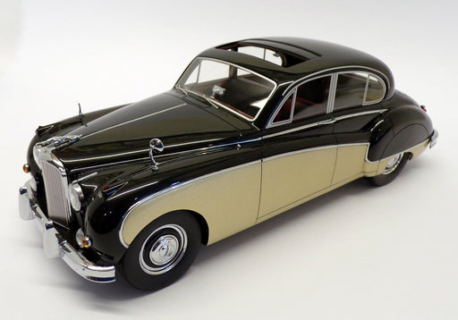 BOS 1/18 Scale Resin Model BOS300 - 1957 Jaguar MK8 - Black Gold