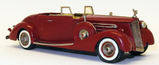 Auto Replicas 1/43 Scale Model Car AR12618 - Cadillac V16 - Red Unboxed