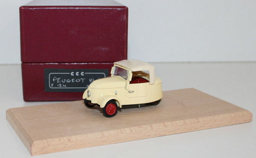 CCC MODEL 1/43 SCALE HAND BUILT RESIN MODEL - PEUGEOT VLV