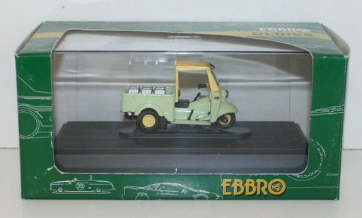 EBBRO 1/43 SCALE 95 - DAIHATSU MIDGET - GREEN WITH OPEN TOP