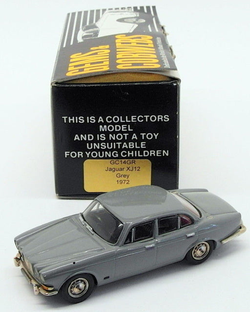 Gems & Cobwebs 1/43 Scale Model Car GC14GR - 1972 Jaguar XJ12 - Grey