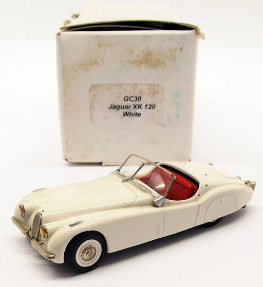 Gems & Cobwebs 1/43 Scale Model Car GC30 - 1950 Jaguar XK120 - White