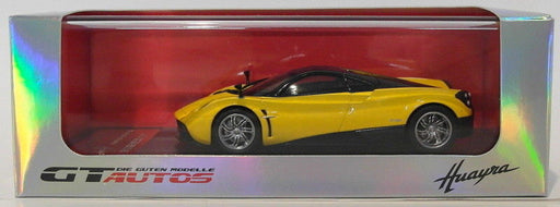 GT Autos 1/43 Scale Diecast 41011GW - Pagani Huayra - Yellow