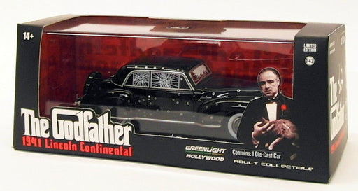 Greenlight 1/43 Scale Model 86511 - 1941 Lincoln Continental - The Godfather