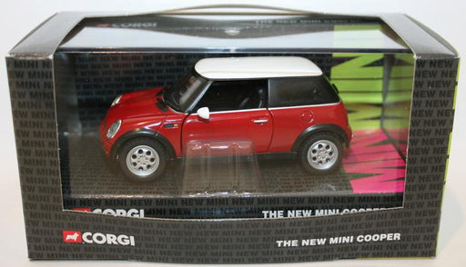 Corgi 1/36 Scale Diecast CC86501 - The New Mini Cooper - Red