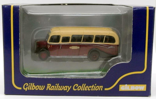 Gilbow 1/76 Scale Diecast Bus 99630 - Bedford OB Coach - British Railways