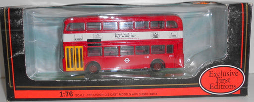 EFE 1/76 24401 ALEXANDER FLEETLINE DMO LONDON TRANSPORT LONDON SIGHTSEEING TOUR