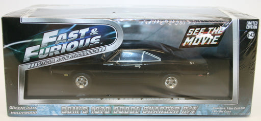 Greenlight 1/43 Scale Model 86201 Fast 7 Furious Doms 1970 Dodge Charger R/T