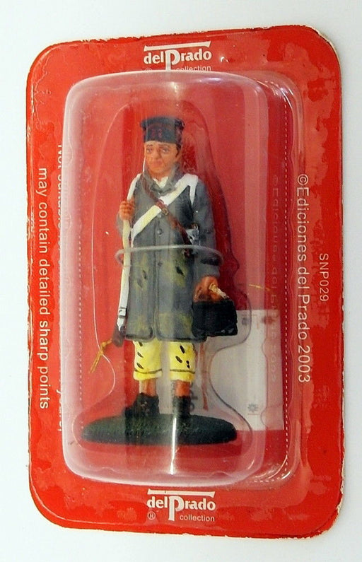 Del Prado Apx 8cm Tall Model Soldier SNP029 - 82nd Regiment French Line Inf 1814