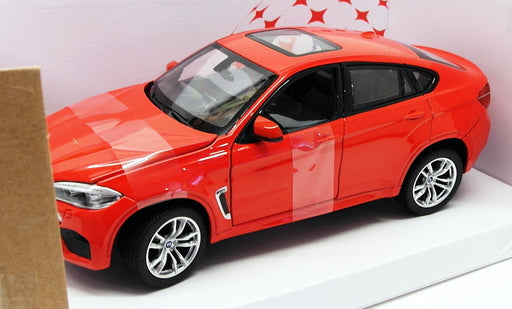 Rastar 1/24 Scale Diecast Model Car 56600 - BMW X6M - Red