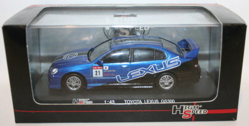 High Speed 1/43 Scale 43KFB10S - Toyota Lexus GS300 Lexus Racing GT Club Champ