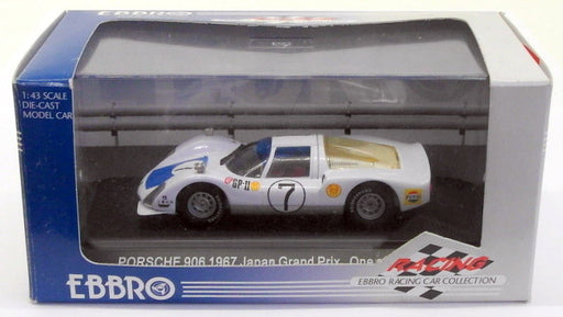 Ebbro 1/43 Scale Diecast 373 - Porsche 906 Carrera 6 #7 Japan GP 1967