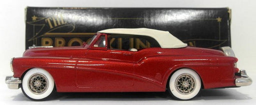Brooklin 1/43 Scale BRK20 007  - 1953 Buick Skylark Convertible Metallic Red