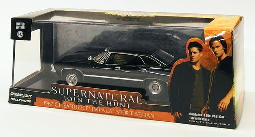 Greenlight 1/43 Scale 86441 - 1967 Chevrolet Impala Sport Sedan - Supernatural