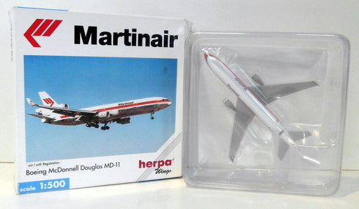 Herpa 1/500 Scale diecast - 503495 Boeing McDonnell Douglas MD-11 Martinair