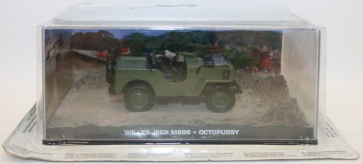 Fabbri 1/43 Scale Diecast - Willys Jeep M606 - Octopussy