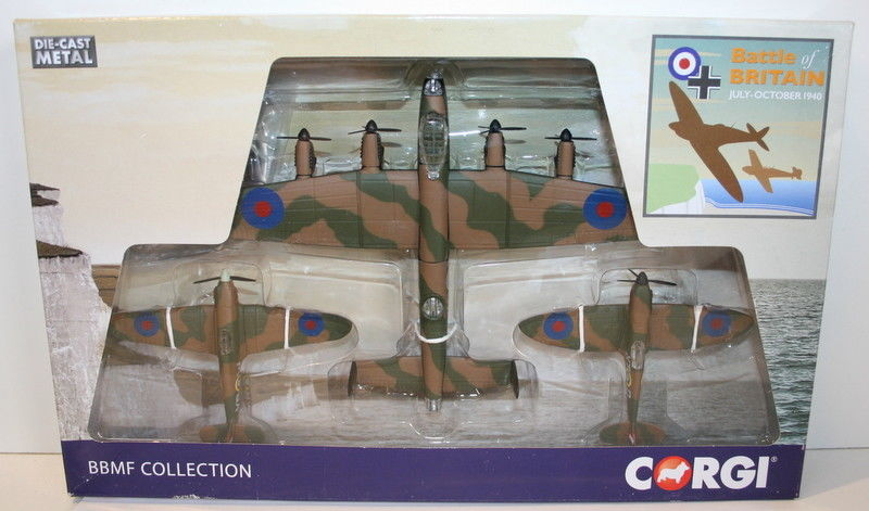 Corgi Battle Of Britain BBMF Fighter Collection apprx 1:100 scale Diecast  Models