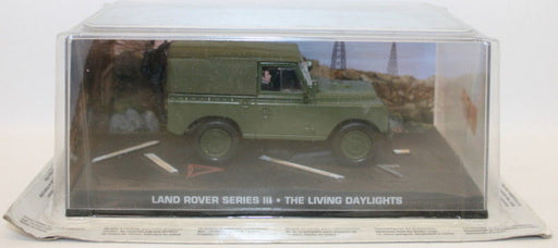 Fabbri 1/43 Scale Diecast - Land Rover Series III - The Living Daylights