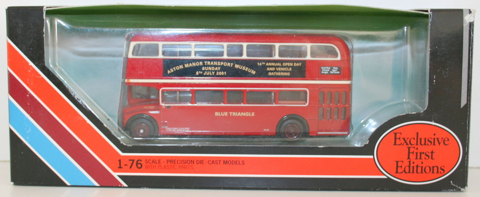 EFE 1/76 - ASTON MANOR TRANSPORT MUSEUM RCL ROUTEMASTER AM3