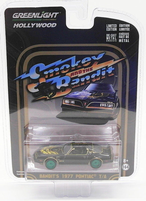Greenlight 1/64 Scale 44710-A - Bandit's 1977 Pontiac T/A - Smokey & The Bandit